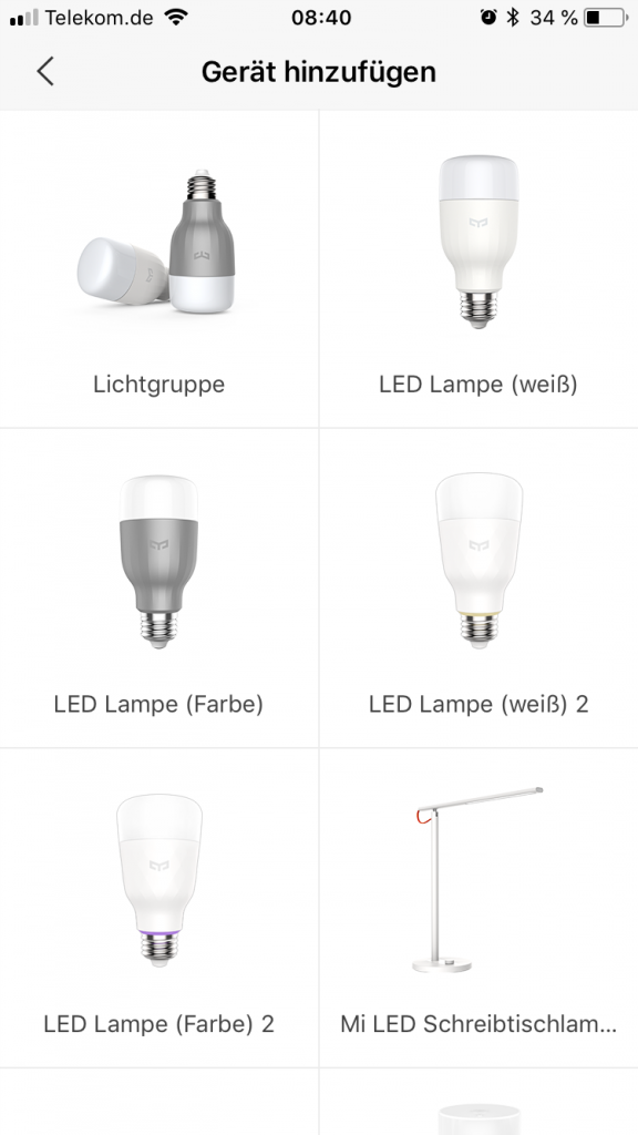Yeelight Wifi Led